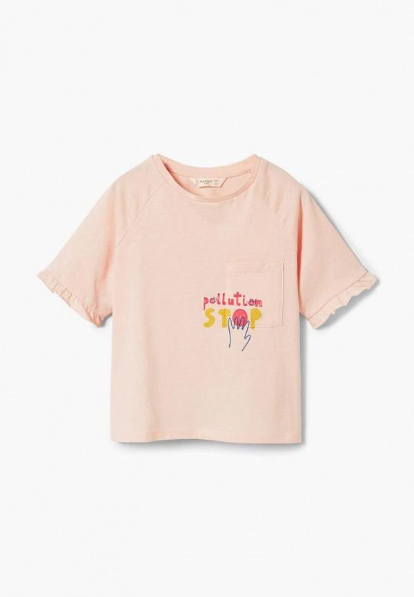Футболка Mango Kids Mango Kids MA018EGCBVH7 футболка mango kids mango kids ma018egbybe1