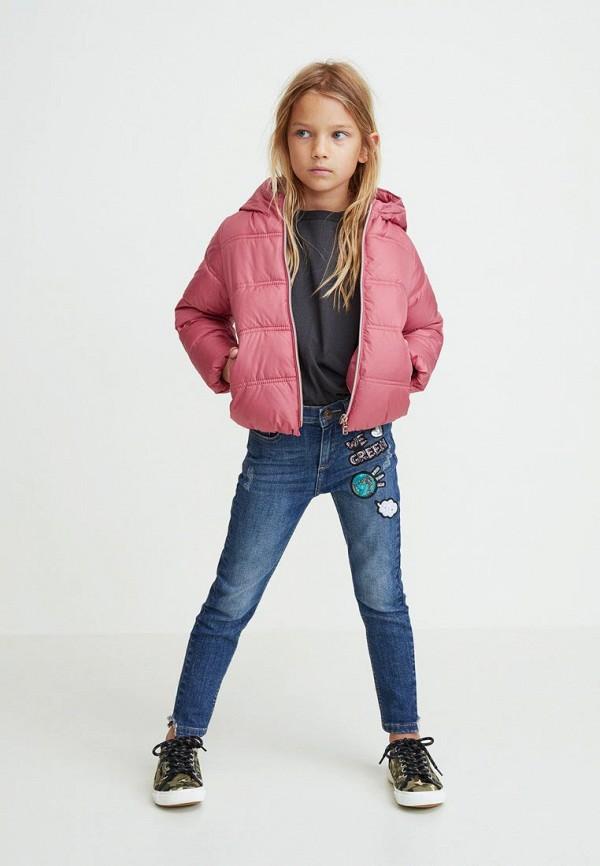 Куртка для девочки утепленная Mango Kids 33023709 Фото 3