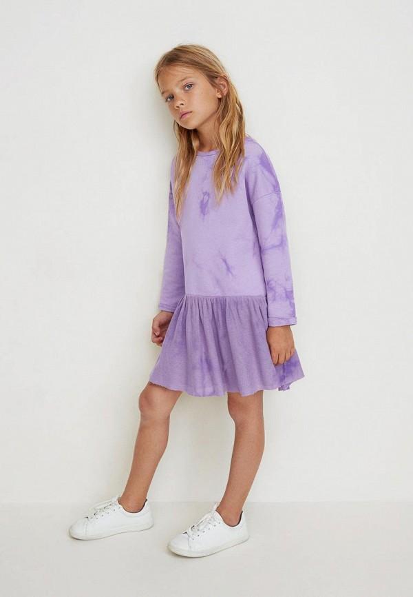 Платья для девочки Mango Kids 33033042 Фото 3