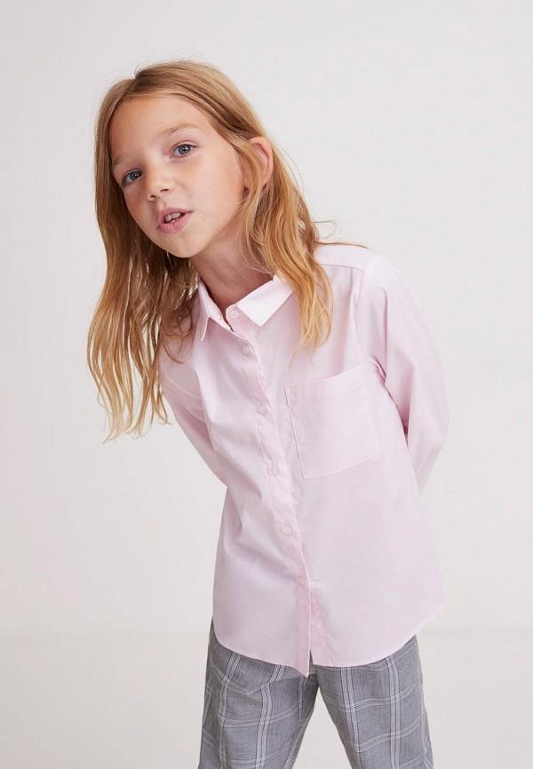 Рубашка для девочки Mango Kids 33040655 Фото 3