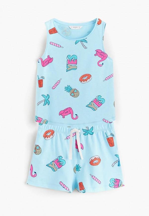 Пижама Mango Kids Mango Kids MA018EGDYBJ9 incity kids пижама