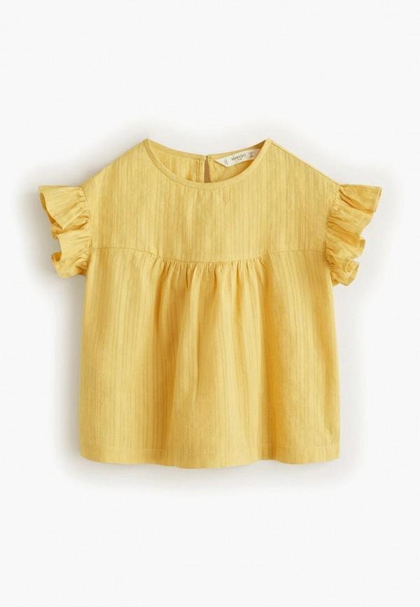 Блуза Mango Kids Mango Kids MA018EGFBTY3 блуза mango kids mango kids ma018egelht4