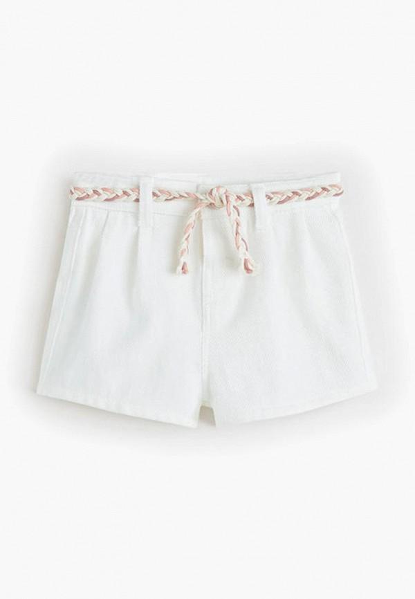 Фото - Шорты джинсовые Mango Kids белого цвета