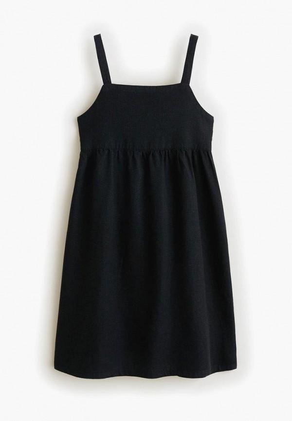 Фото - Платье Mango Kids черного цвета