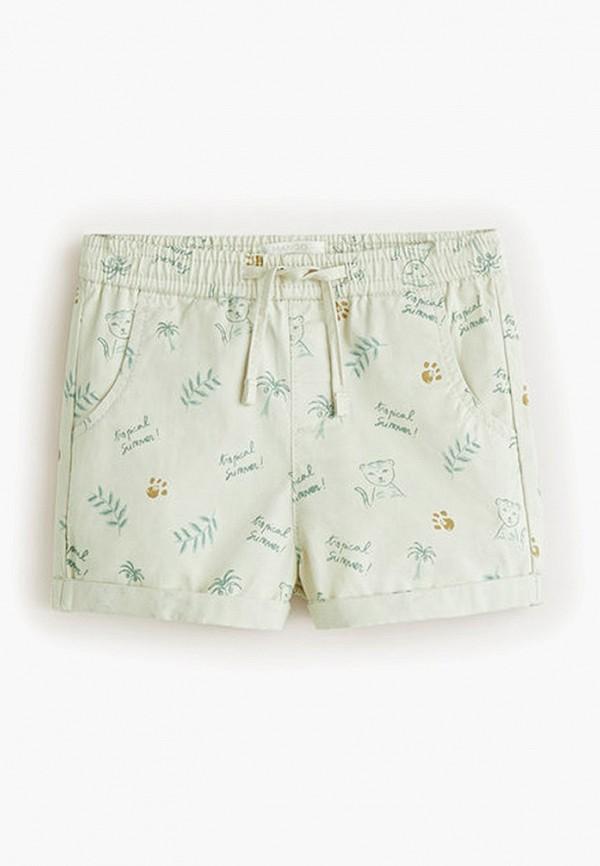 шорты mango kids для девочки, бирюзовые