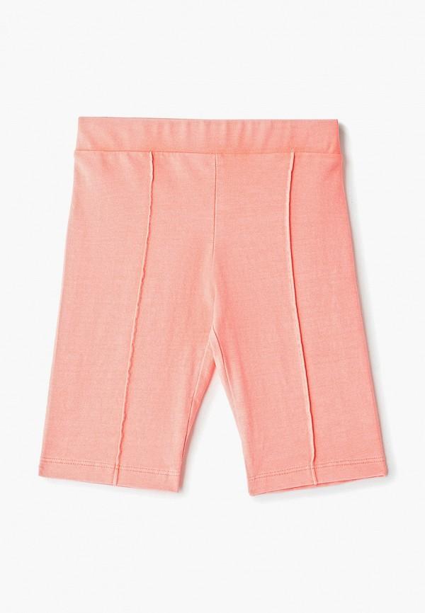 шорты mango kids для девочки, оранжевые