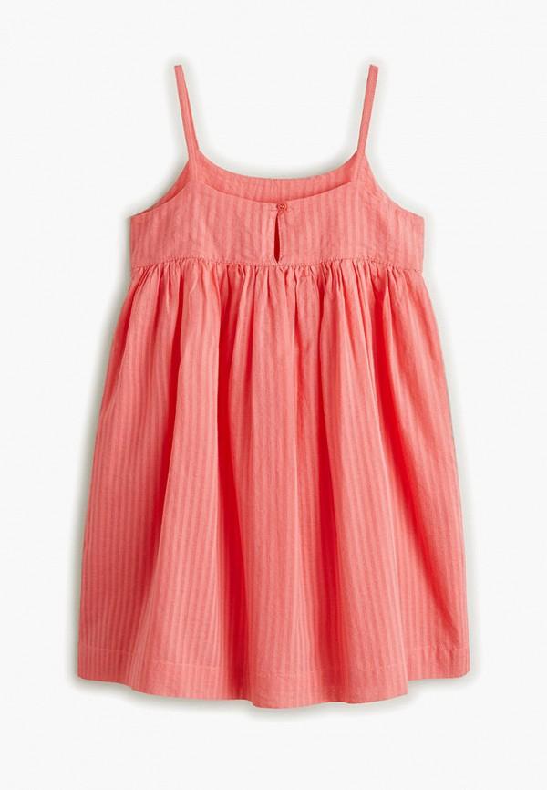 Фото 2 - Платье Mango Kids розового цвета