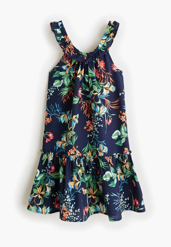 Купить Платье Mango Kids синего цвета