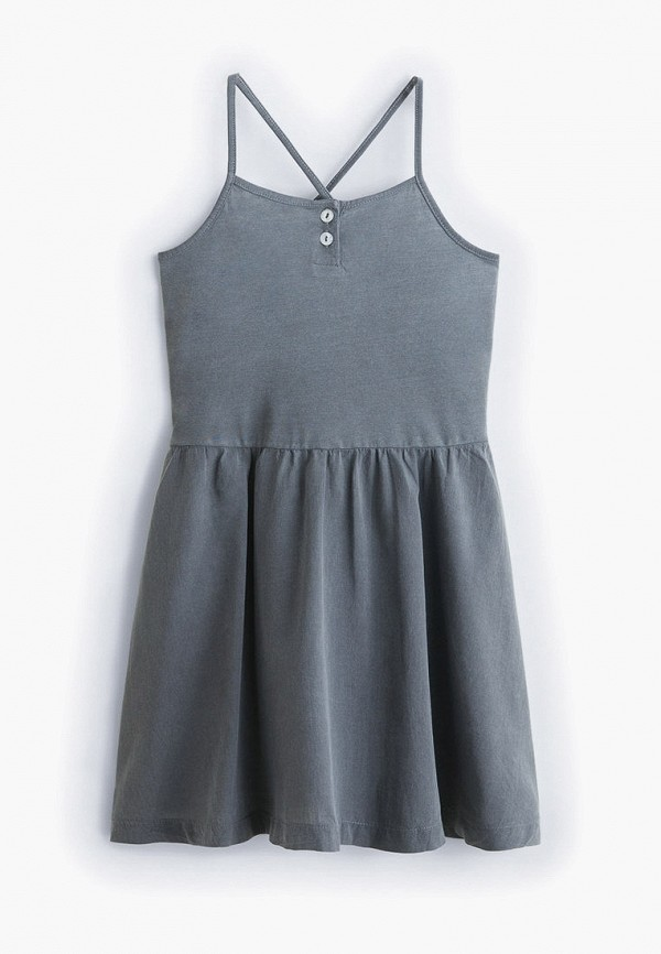 платье mango kids для девочки, серое