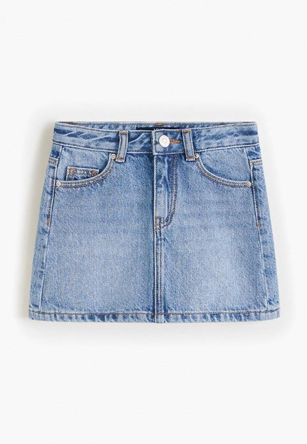 цены на Юбка джинсовая Mango Kids Mango Kids MA018EGFQJS2  в интернет-магазинах
