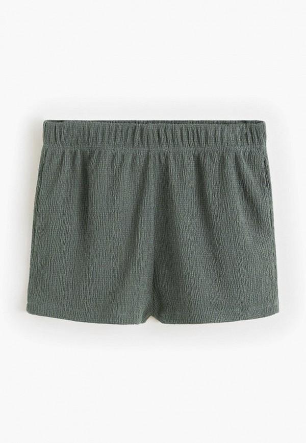 шорты mango kids для девочки, зеленые