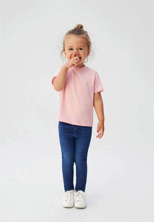Фото 4 - Джинсы Mango Kids синего цвета