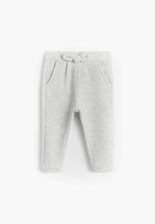 спортивные брюки mango kids для девочки, серые