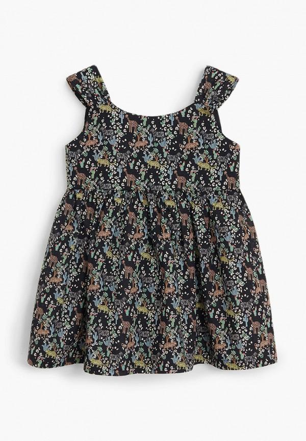 платье mango kids для девочки, черное