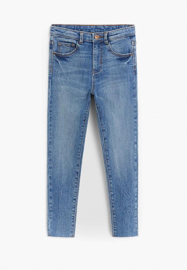 джинсы mango kids для девочки, синие