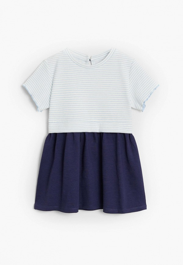 повседневные платье mango kids для девочки, разноцветное