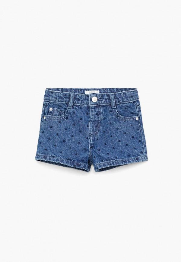 Шорты джинсовые Mango Kids Mango Kids 67017109 синий фото