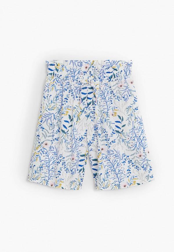 брюки mango kids для девочки, белые