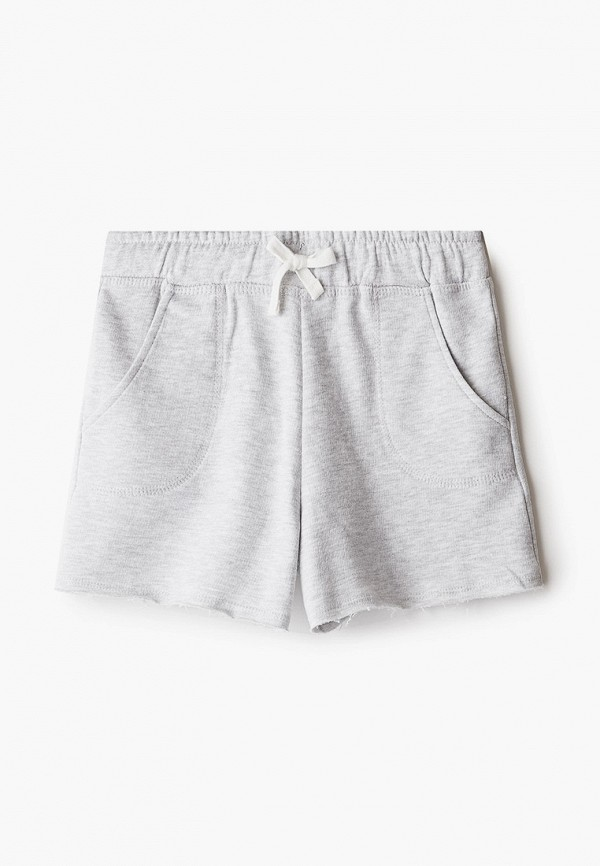 шорты mango kids для девочки, серые