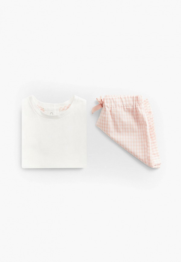 пижама mango kids для девочки, разноцветная