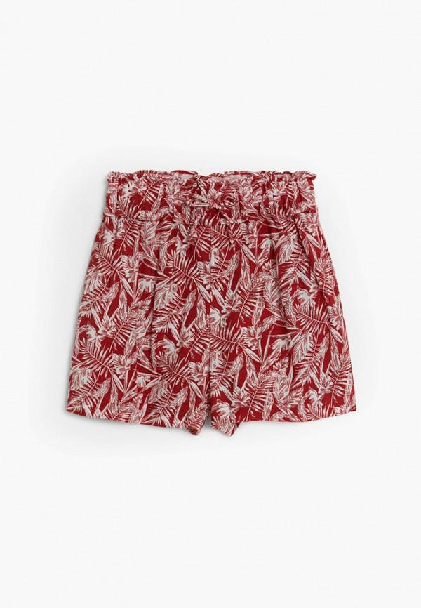 шорты mango kids для девочки, красные