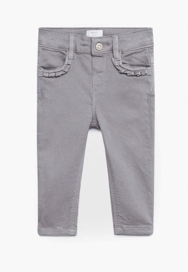джинсы mango kids для девочки, серые