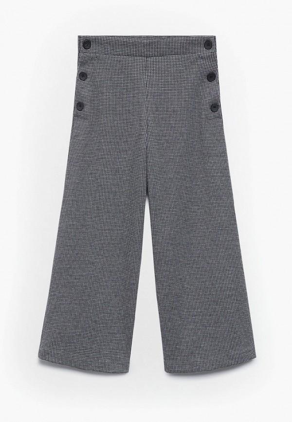брюки mango kids для девочки, серые