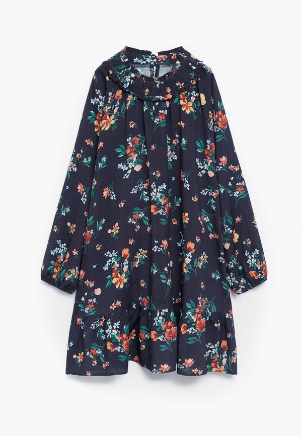 повседневные платье mango kids для девочки, черное