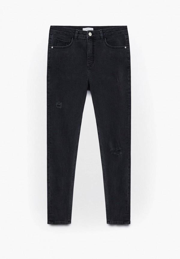 джинсы mango kids для девочки, черные