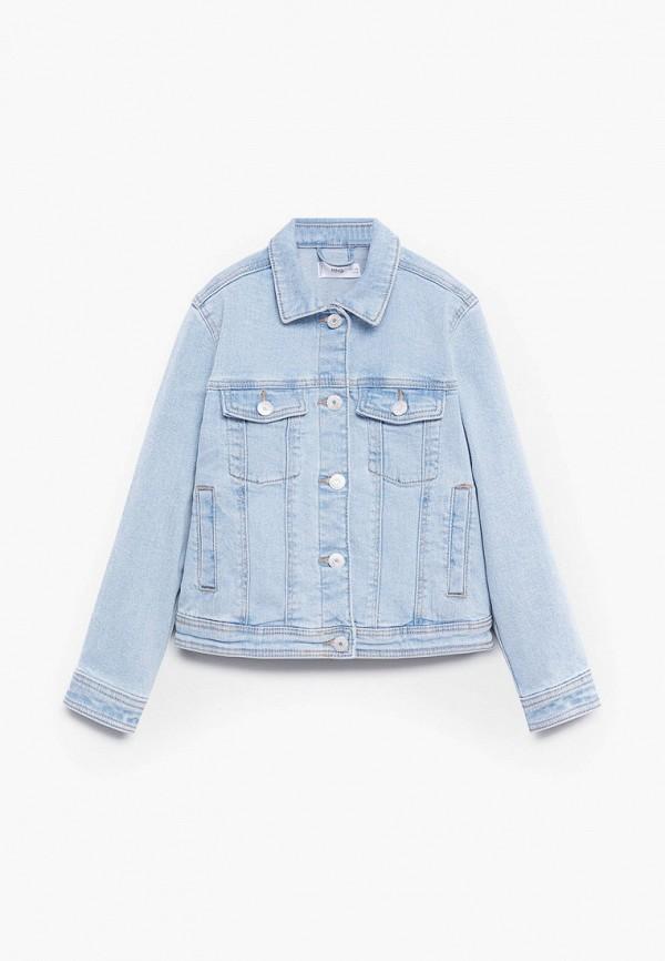 Куртка для девочки джинсовая Mango Kids 87043631