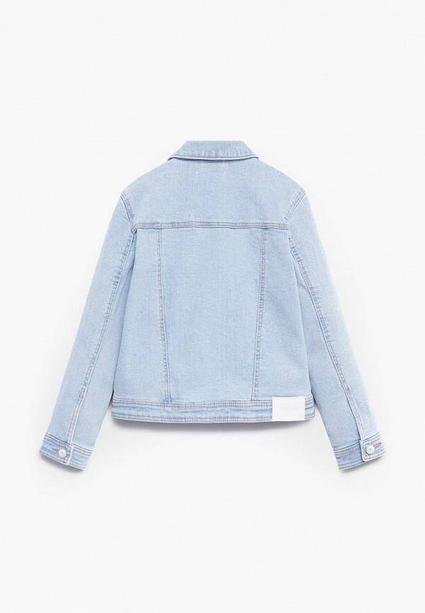 Куртка для девочки джинсовая Mango Kids 87043631 Фото 2
