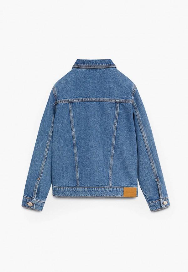 Куртка для девочки джинсовая Mango Kids 87064040 Фото 2