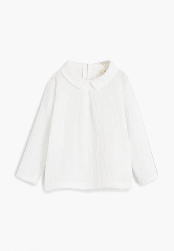 блузка mango kids малыши, белая