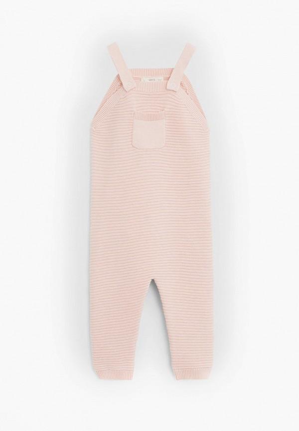 комбинезон mango kids малыши, розовый