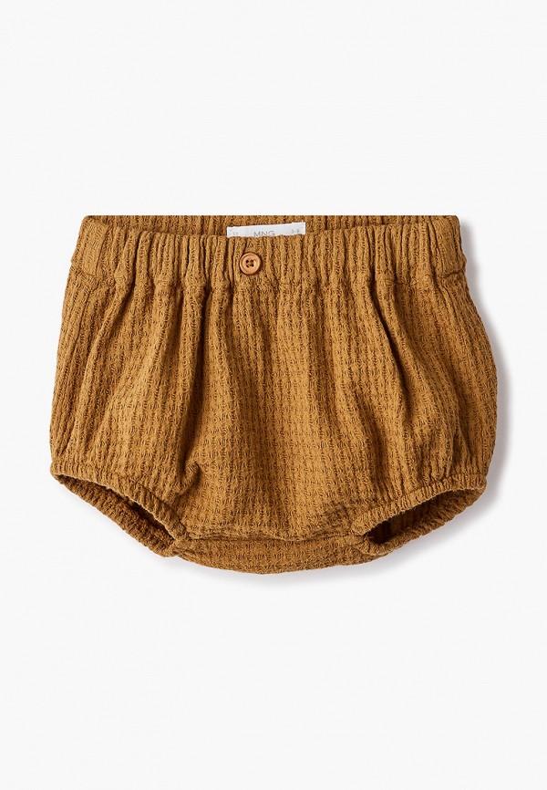 шорты mango kids малыши, коричневые
