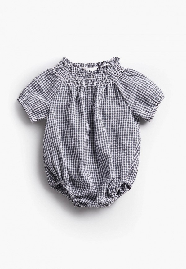 комбинезон с брюками mango kids малыши, синий