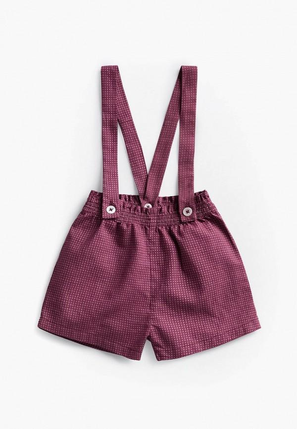 шорты mango kids малыши, бордовые