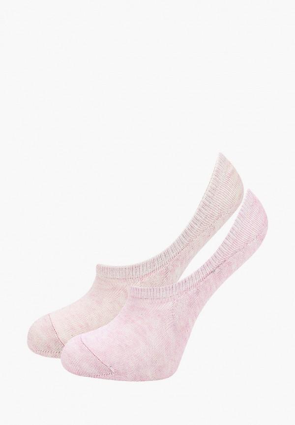 носки mango kids для девочки, розовые