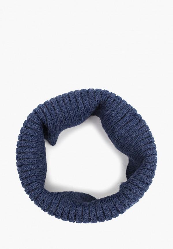 шарф mango kids для мальчика, синий