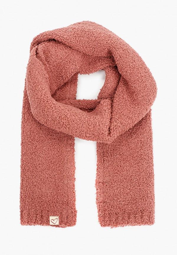 шарф mango kids для девочки, розовый