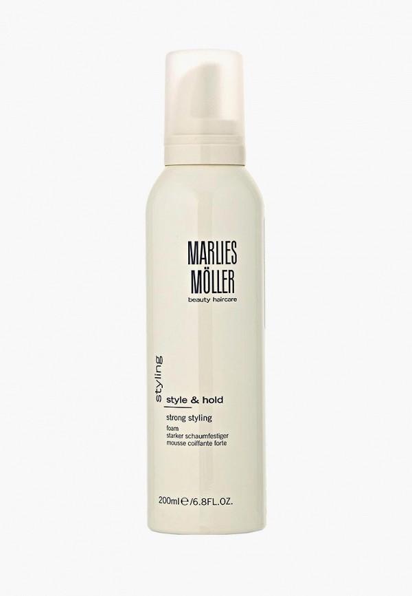 Купить Пена для укладки Marlies Moller, StylIng сильной фиксации 200 мл, MA084LWBUF91, белый, Осень-зима 2018/2019
