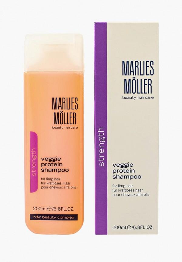 Купить Шампунь Marlies Moller, Strength для ослабленных волос 200 мл, ma084lwrfa62, Весна-лето 2019