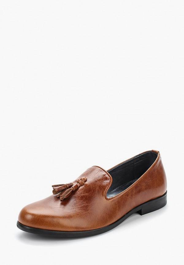 мужские лоферы matt nawill, коричневые