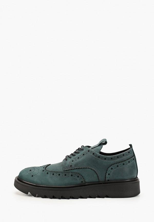мужские туфли matt nawill, зеленые