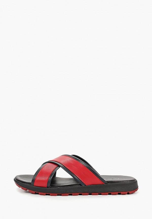 мужские сандалии matt nawill, красные
