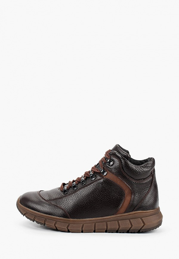 мужские высокие ботинки matt nawill, коричневые