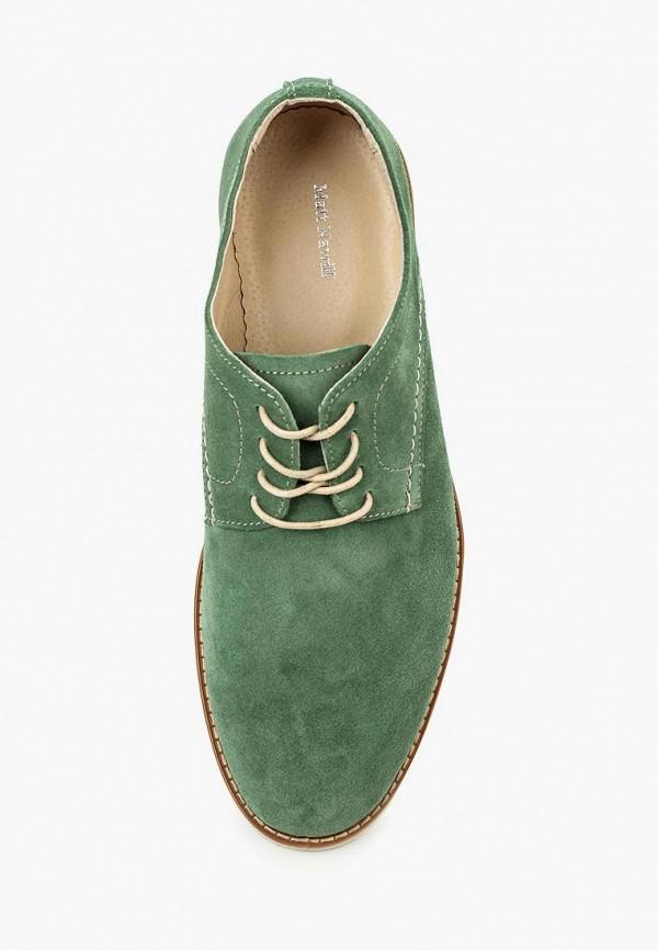 Фото 4 - мужские туфли Matt Nawill зеленого цвета