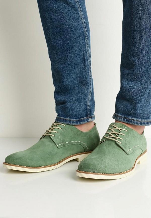 Фото 5 - мужские туфли Matt Nawill зеленого цвета