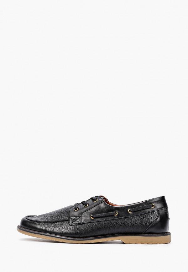 мужские туфли-дерби matt nawill, черные