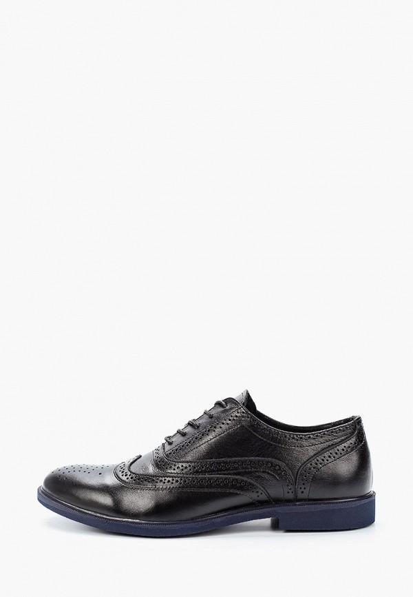мужские туфли-оксфорды matt nawill, черные